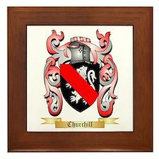 Churchill Framed Tile