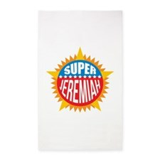 Super Jeremiah 3'x5' Area Rug
