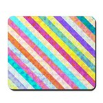 Lollypop #2, Colourful Stripes Mousepad