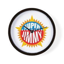 Super Jimmy Wall Clock