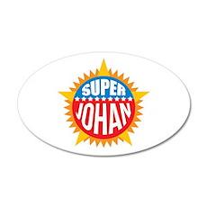 Super Johan Wall Decal