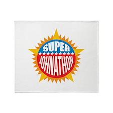 Super Johnathon Throw Blanket