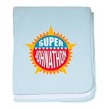 Super Johnathon baby blanket
