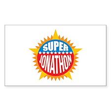 Super Jonathon Decal