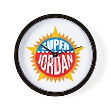 Super Jordan Wall Clock