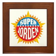 Super Jorden Framed Tile