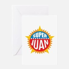 Super Juan Greeting Card