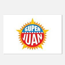 Super Juan Postcards (Package of 8)