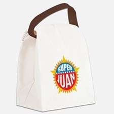 Super Juan Canvas Lunch Bag