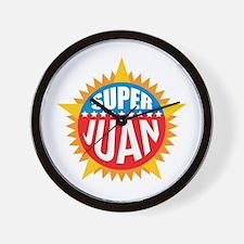 Super Juan Wall Clock