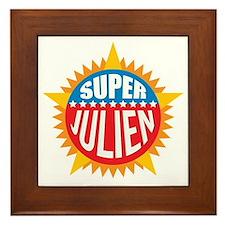 Super Julien Framed Tile