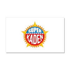 Super Kaden Car Magnet 20 x 12