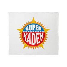 Super Kaden Throw Blanket