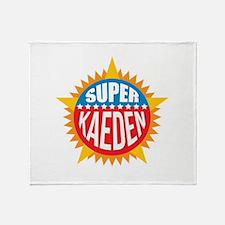 Super Kaeden Throw Blanket