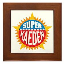 Super Kaeden Framed Tile