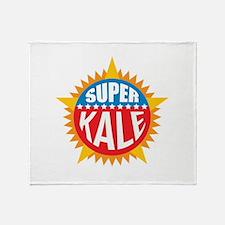 Super Kale Throw Blanket