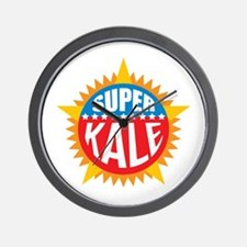 Super Kale Wall Clock