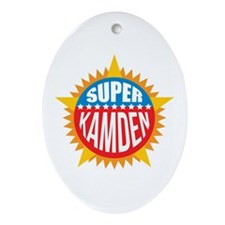 Super Kamden Ornament (Oval)