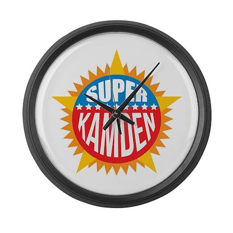 Super Kamden Large Wall Clock