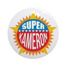 Super Kameron Ornament (Round)