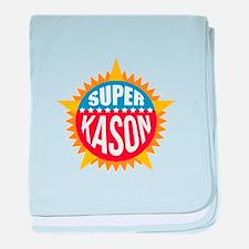 Super Kason baby blanket