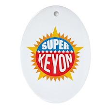 Super Keyon Ornament (Oval)