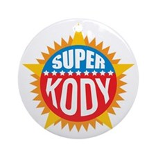 Super Kody Ornament (Round)