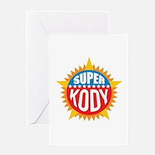 Super Kody Greeting Card