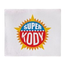 Super Kody Throw Blanket