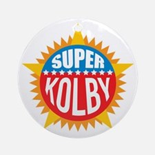 Super Kolby Ornament (Round)
