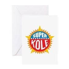 Super Kole Greeting Card