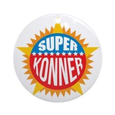 Super Konner Ornament (Round)