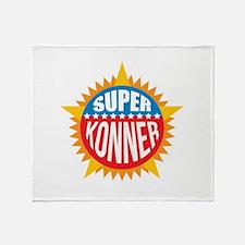 Super Konner Throw Blanket