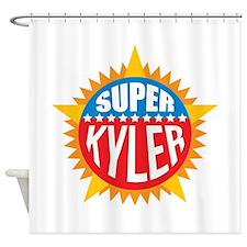 Super Kyler Shower Curtain