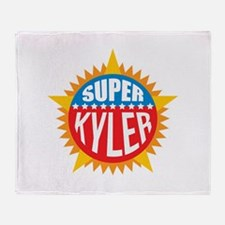 Super Kyler Throw Blanket