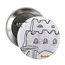 "Sandcastles in the sand 2.25"" Button"