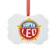 Super Leo Ornament