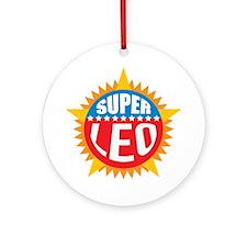 Super Leo Ornament (Round)