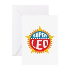 Super Leo Greeting Card