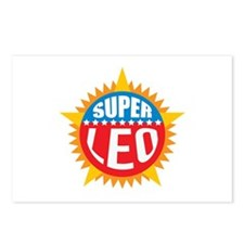Super Leo Postcards (Package of 8)