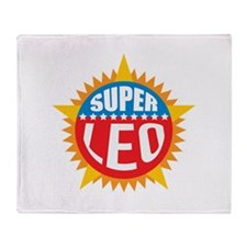 Super Leo Throw Blanket