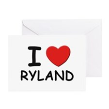 I love Ryland Greeting Cards (Pk of 10)