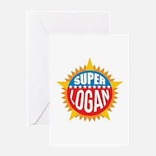 Super Logan Greeting Card
