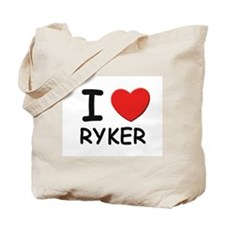 I love Ryker Tote Bag