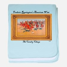 The Cavalry Charge baby blanket