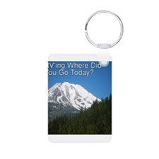 RVing Where Did You Go Today? Keychains