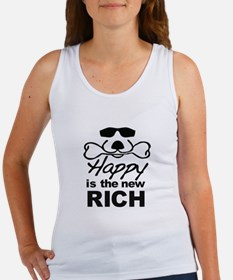 Happy Is The New Rich Tank Top