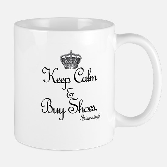 Keep Calm & Buy Shoes Mug