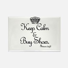 Keep Calm & Buy Shoes Rectangle Magnet