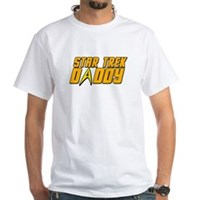 Star Trek Daddy White T-Shirt